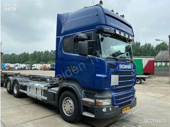 Hook lift truck Scania R 480 B 6X2*4 | Kabelsysteem | Retarder