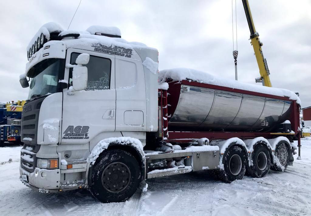 hook lift truck Scania R 500