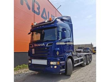 Hook lift truck Scania R 560 JOAB 24T