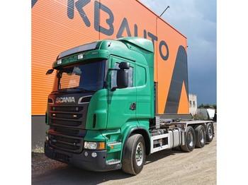 Hook lift truck Scania R 620 8x4