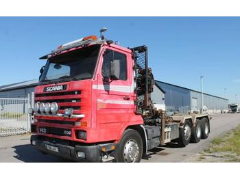 Hook lift truck Scania SCANIA R143HL 6X2