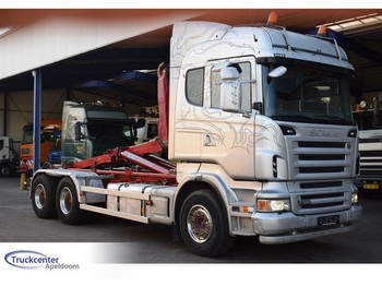 Hook lift truck Scania Scania R480 6x4, Euro 5, Retarder, Truckcenter Apeldoorn