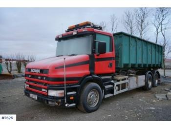 Hook lift truck Scania T124