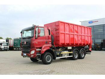Hook lift truck Tatra PHOENIX T158/II, 6x6, EURO 6,VENTILATED SEATS