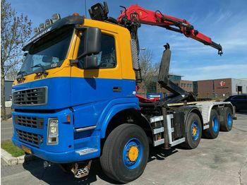 Terberg FM1950-HT 8X4 + PALFINGER EPSILON Q150Z7  - hook lift truck