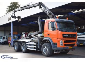 Terberg FM 1350 6x6, Manuel, Atlas 140.1, Truckcenter Apeldoorn - hook lift truck