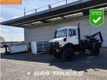 Hook lift truck Unimog 1650 4X4 L 4X4 Euro 2