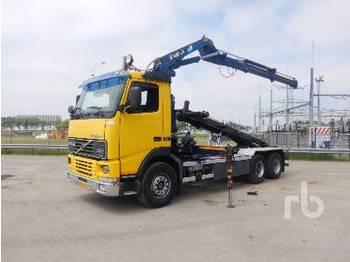 Hook lift truck VOLVO FH12-62RA 6x2 w/Crane