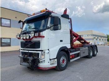 Hook lift truck VOLVO FH13.500 Euro 5 + 6x4+ Hooklift Joab