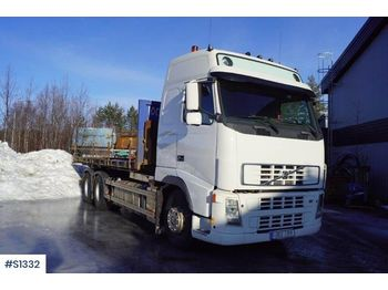 Hook lift truck VOLVO FH480 6x2, Hook Truck with 2 flats