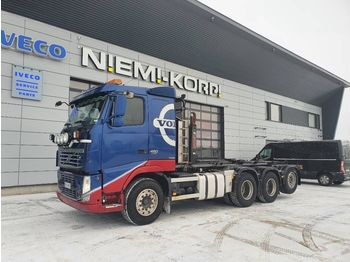 Hook lift truck VOLVO FH480 8X4*4