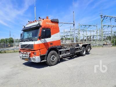 hook lift truck VOLVO FM12-420 6x2 420