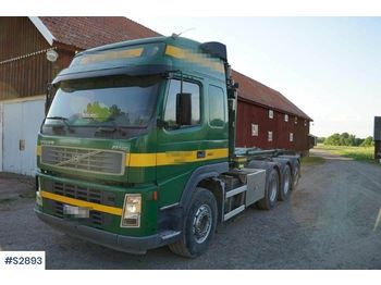 Hook lift truck VOLVO FM12 8x4 Hook Truck with tools