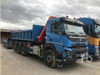 Hook lift truck VOLVO FMX500 8x4