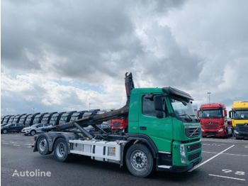 Hook lift truck VOLVO FM 410 su 20t Zetterberg kabliu