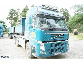 Hook lift truck VOLVO FM 8x4 Hook Truck with Trailer