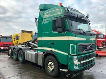Hook lift truck Volvo FH13-460 8X2 MET HAAKARM