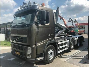 Hook lift truck Volvo FH13-460 8X4 30 TON VDL HAAK MANUEL GEARBOX