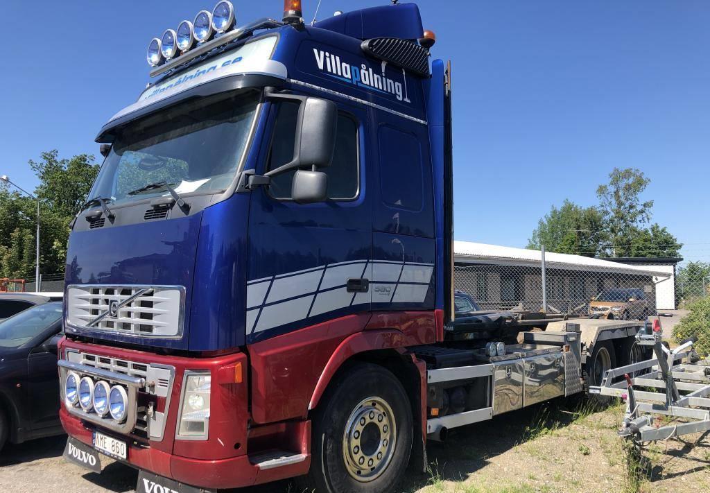 hook lift truck Volvo FH16 580