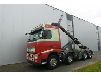 Hook lift truck Volvo FH500 8X4 MULTILIFT HOOK GLOBETROTTER EURO 5