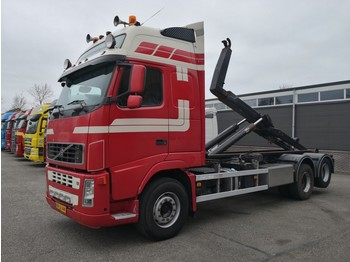 Hook lift truck Volvo FH520 6x2 Globetrotter XL euro5 Full Steel - 10 tires - VDL 21 ton 6.5m - 10/2019 APK