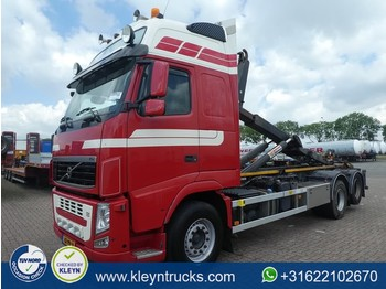 Hook lift truck Volvo FH 13.460 euro 5 vdl system