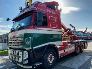 Hook lift truck Volvo FH 13-500 8X4 EURO 5 + MULTILIFT HAAK 20 TON