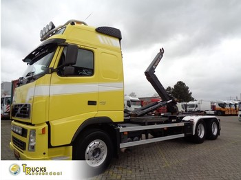 Hook lift truck Volvo FH 400 + Euro 5 + 10 tyres + Hook system