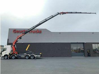 Hook lift truck Volvo FH 500 8X4 Abrollkipper/MONTAGEKRAN/kran/kraan/c