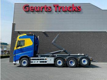 Hook lift truck Volvo FH 540 8X2 TRIDEM + AJK HAAKARMSYSTEEM/ABROLLKIP