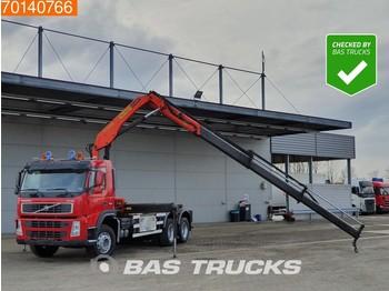Hook lift truck Volvo FM12 340 6X2 Palfinger PK15500 Remote Liftachse