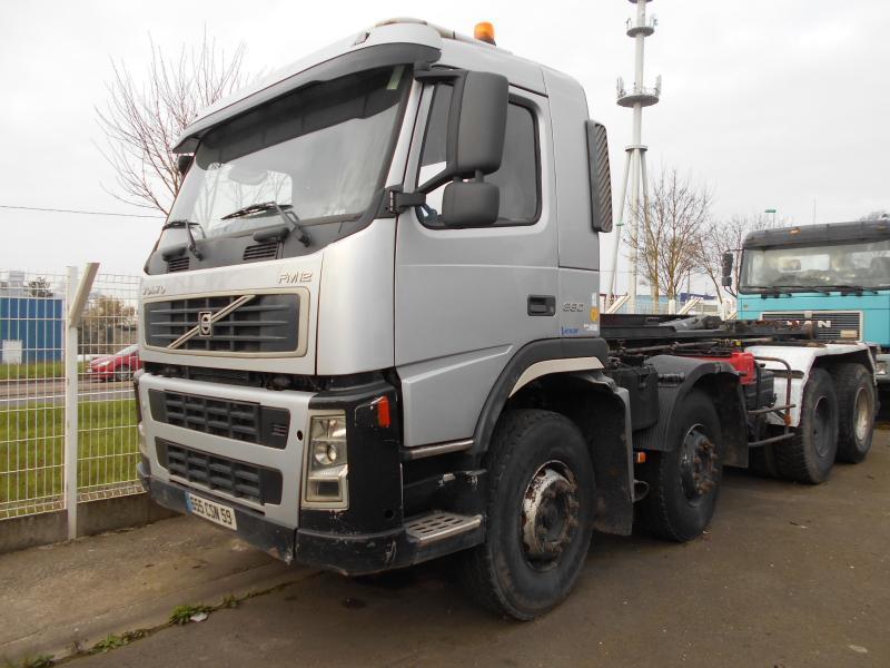 hook lift truck Volvo FM12 380