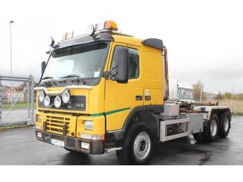 Hook lift truck Volvo FM12 6X2