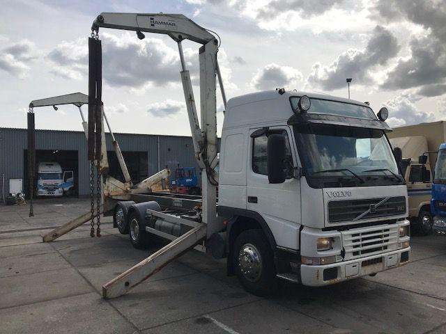 Volvo FM7-290 MET 20 FEET HAMMAR SL20 LIFT hook lift truck ...