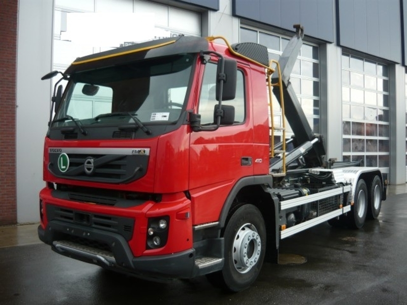 Volvo FMX 410 hook lift truck from Norway for sale at ...