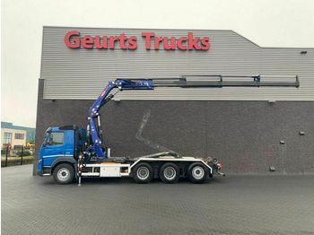 Hook lift truck Volvo FMX 420 8X4 HAAK + KRAAN/KRAN/CRANE/GRUA