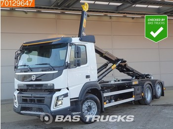 Hook lift truck Volvo FMX 430 6X2 Steering-Axle Dynamic-Steering Hyva 26-60-S FMX Unlimited-Edition