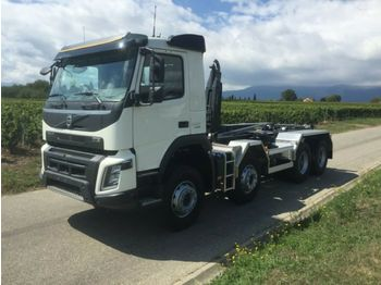 Hook lift truck Volvo FMX 430 8x4 / Hyva Lift