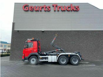 Hook lift truck Volvo FMX 500 6X4 HIAB HAAKARMSYTEEM/HOOKLIFT/ABROLLKI