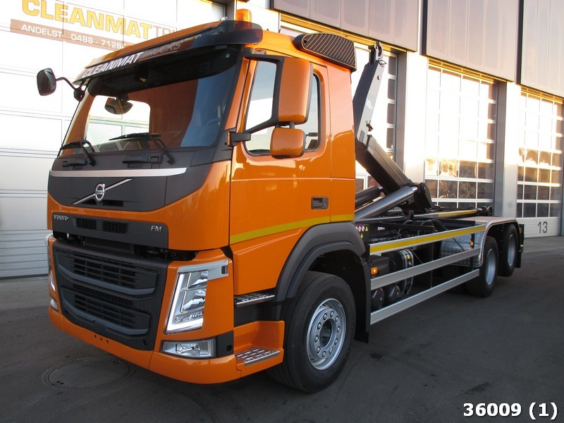hook lift truck Volvo FM 11 410 6x2