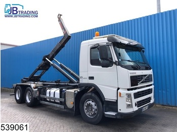Volvo FM 400 6x2, Hook container system, Manual, Steel suspension, 10 Wheels, Airco, Euro 4 - hook lift truck