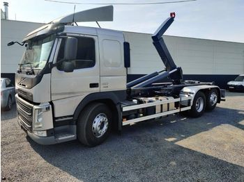 Hook lift truck Volvo FM 410 Containerhaaksysteem / Container Euro6