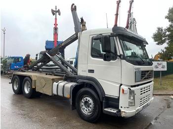 Hook lift truck Volvo FM 440 6x4 - 20T GUIMA roll-off tipper / haaksysteem / abrollkipper / amplirol - TÜV 03/2022 - A/C - CAMERA - EURO 3 - STEEL SPR