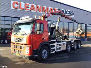 Hook lift truck Volvo FM 440 HMF 16 ton/meter Z-kraan
