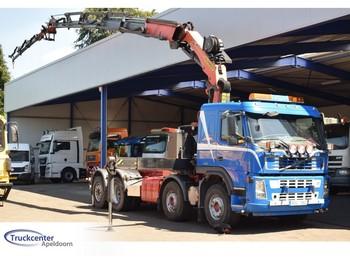 Hook lift truck Volvo FM 440, Palfinger PK 34002 (2010!) Jib, Winch, 2x Extra function, 8x2, Manuel, Old tacho, Truckcenter Apeldoorn
