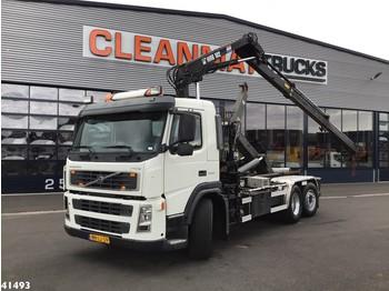 Hook lift truck Volvo FM 9.340 Hiab 10 ton/meter laadkraan