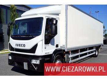 Isothermal truck IVECO Eurocargo 160E21 , E6 , 4x2 , 21 EPAL , box 8,5m , side door , l