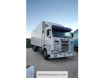 SCANIA R 113M 380 left hand drive 6X2 26 ton cold room - isothermal truck