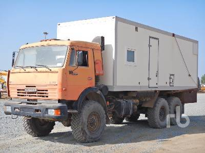 KAMAZ 43118 6x6 truck from United Arab Emirates for sale at Truck1, ID:  4182286
