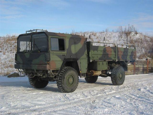 man kat 1 4x4 5t mil gl truck from denmark for sale. Black Bedroom Furniture Sets. Home Design Ideas